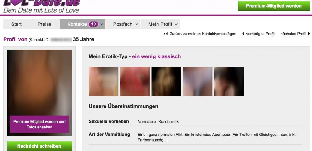 Lol-date.de der Ideo Labs GmbH - Sexdating zum Dumpingpreis?