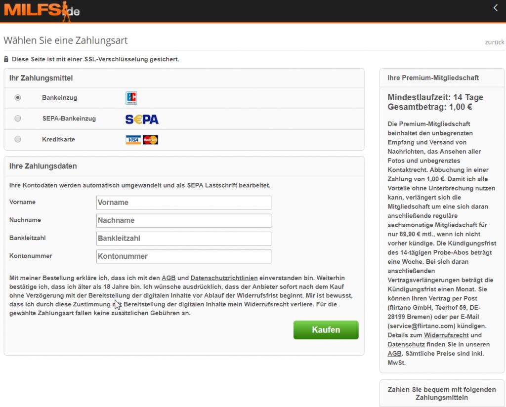 Flirtano GmbH (milfs.de): Mahneifer trotz Urteil des AG Bremen (1 C 66/17)