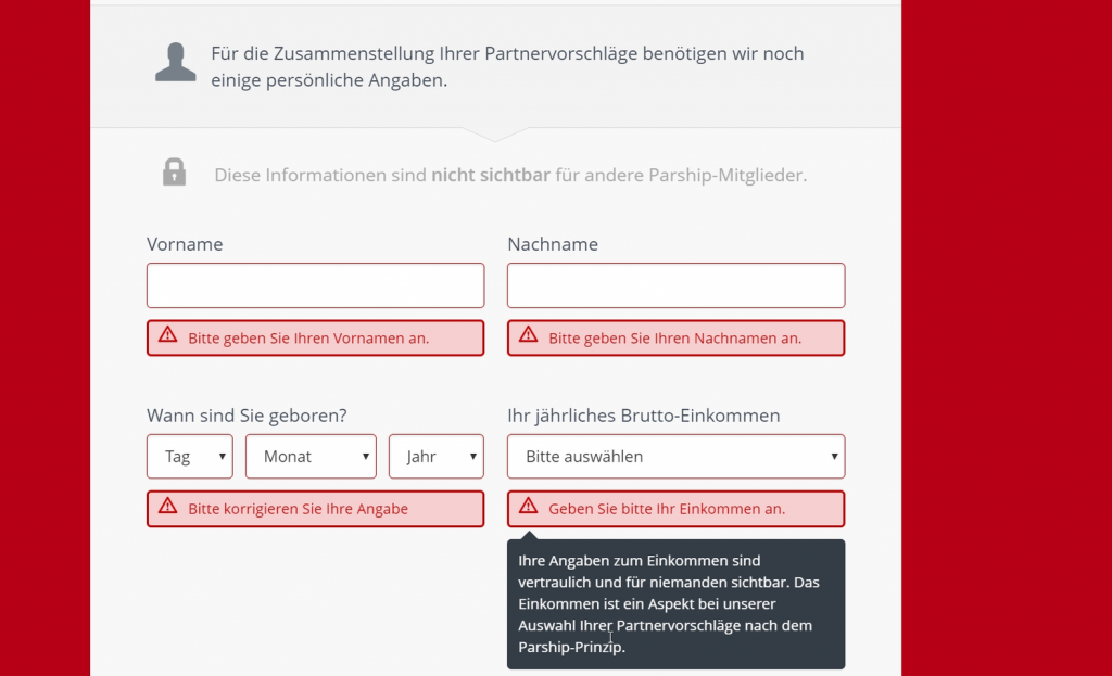 AG Hamburg: Arglistige Täuschung durch Parship - Manches spricht dafür!