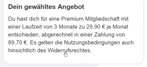 willigemilfs.de: Paidwings AG verzichtet auf Forderungen - Rechtliche Würdigung der Widerrufsbelehrung